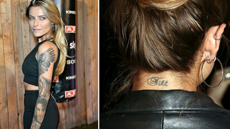 Sophia Thomalla-Till tattoo                                                                                                                                                                                 More