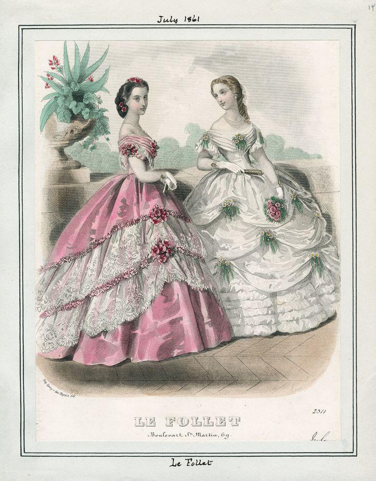 July, 1861 - Le Follet