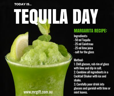 Did someone say TEQUILA?!:-) Happy Tequila Day!  #tequila #tequiladay #margarita