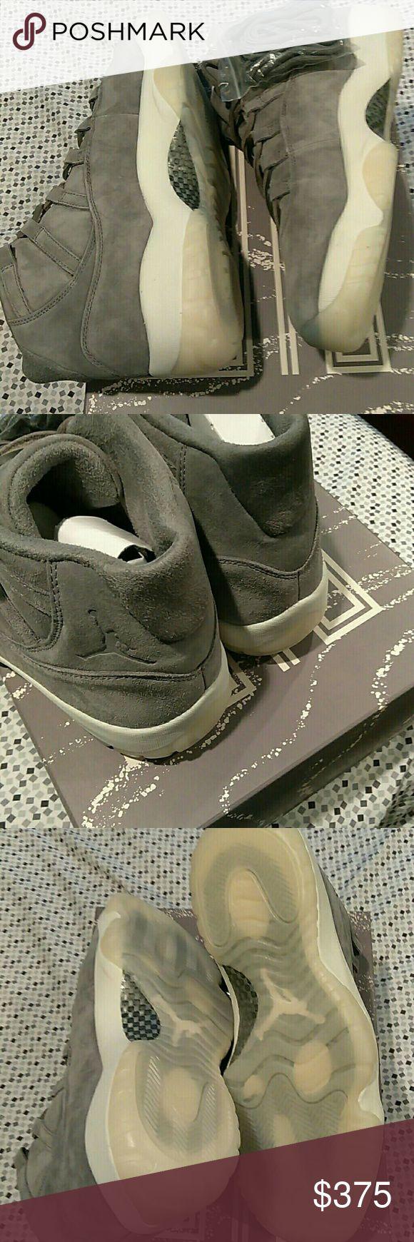 Air Jordan retro XI Retro 11 cool grey suede. Deadstock Air Jordan Shoes Sneakers