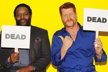 """Walking Dead"" Cast Members Decide Which Celebs Would Survive A Zombie Apocalypse"