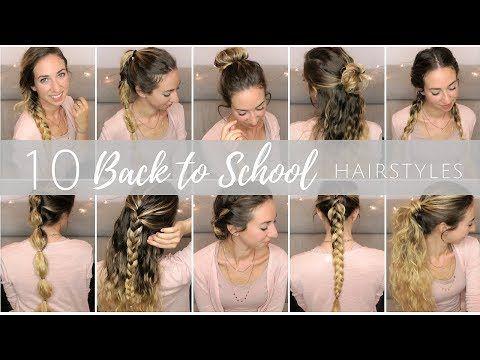 Back to School Hairstyle   Acconciature per la scuola