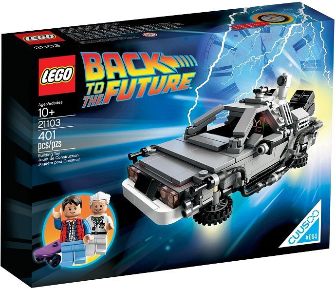 21103 The DeLorean Time Machine