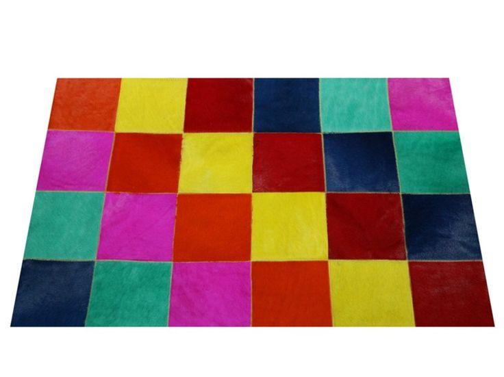 Tappeto patchwork in pelliccia per bambini PATCHWORK Collezione Patchwork by MarcoMoni Tappeti