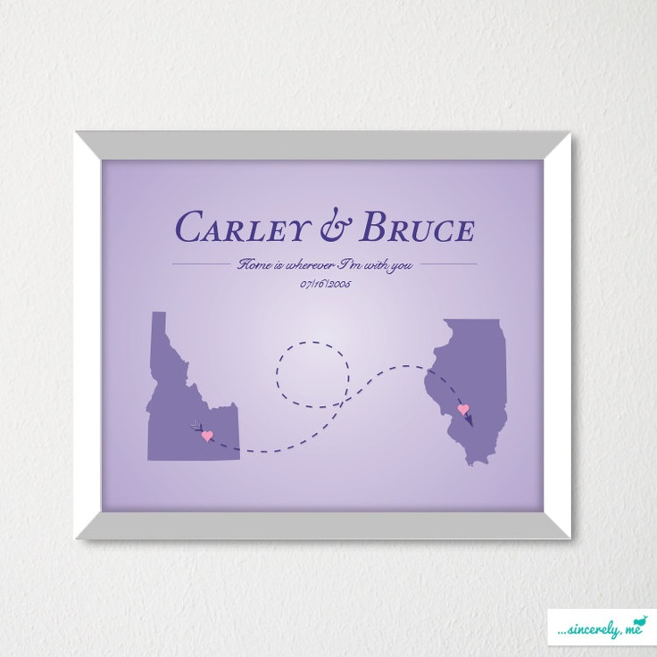 Map Art Wedding Gift : Wedding Map Art Print / Modern Bachelorette Decor / Wedding Gift ...