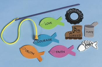 Fishers of Men-Crafts, Food, and Activities...great site for fun ideas