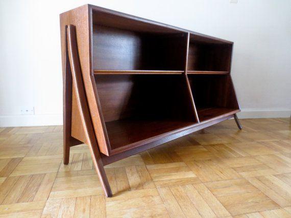 Mid Century Modern Bookcase Bookshelf Kipp Stewart for Drexel Declaration 1962 on Etsy, $1,695.00