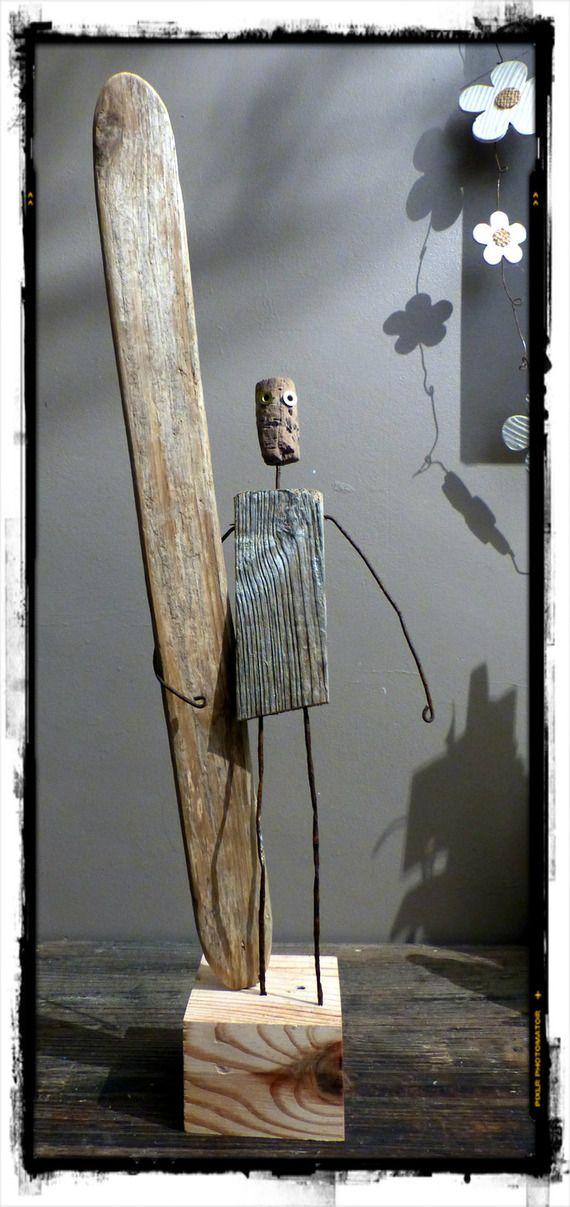 1000 images about legni di mare on pinterest folk art fish driftwood scul - Creation bois flotte ...