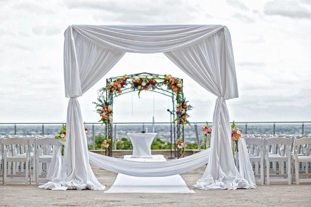 Fabulous Wedding at Harbor Beach Marriott, Florida (Photo by Jeff Kolodny Photography)