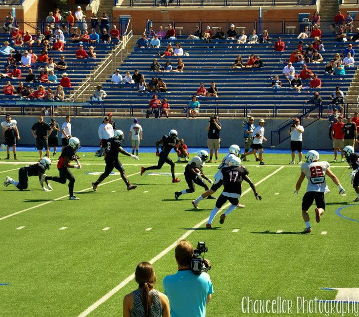 Texas Tech Spring Game in Midland, Tx