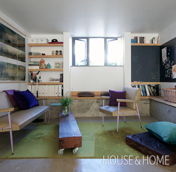 How To Design A Small Basement Apartment | Design: Claudia Bader Photo: Jason Stickley
