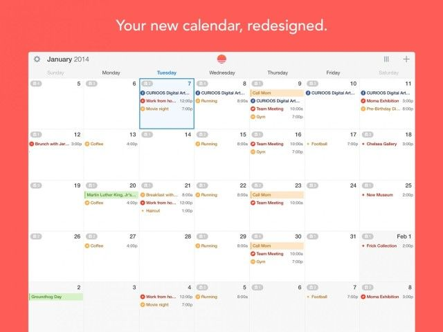 Sunrise May Be The Best Calendar Alternative For Your iPad