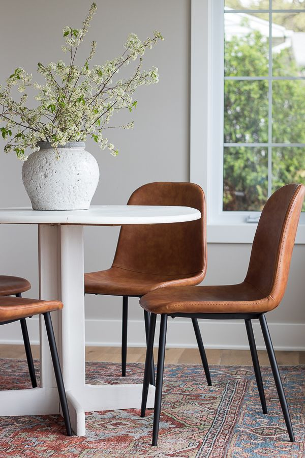 20+ Dining set with leather chairs Best