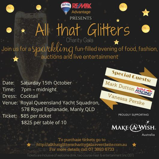 Charity Gala in support of Make A Wish Australia