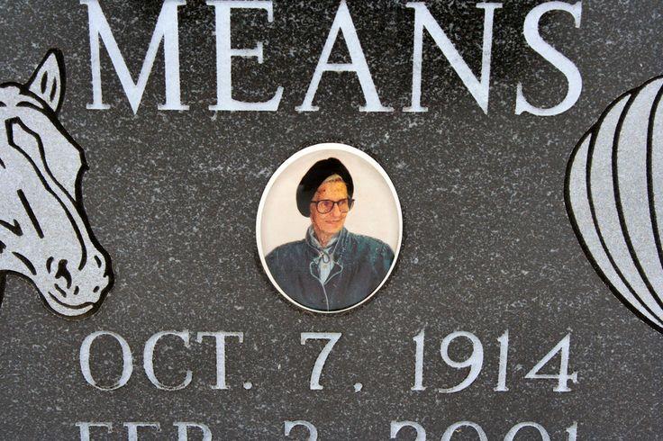 https://flic.kr/p/95bFRp | Faye Elizabeth Means | Taken at New SouthPark Cemetery 12/27/10