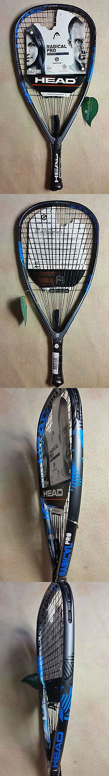 Racquetball 62168: New!!! Head Graphene Radical Pro Racquetball Racquet. 3 5 8 Grip. Warranty. -> BUY IT NOW ONLY: $169 on eBay!