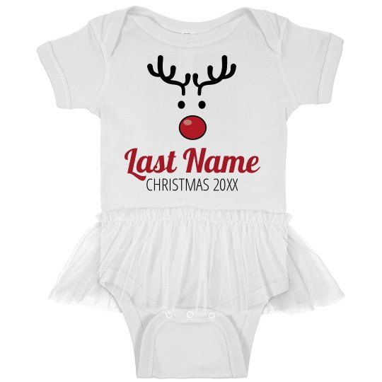 c26b7ef8d Custom Infant Rudolph Family Pajamas