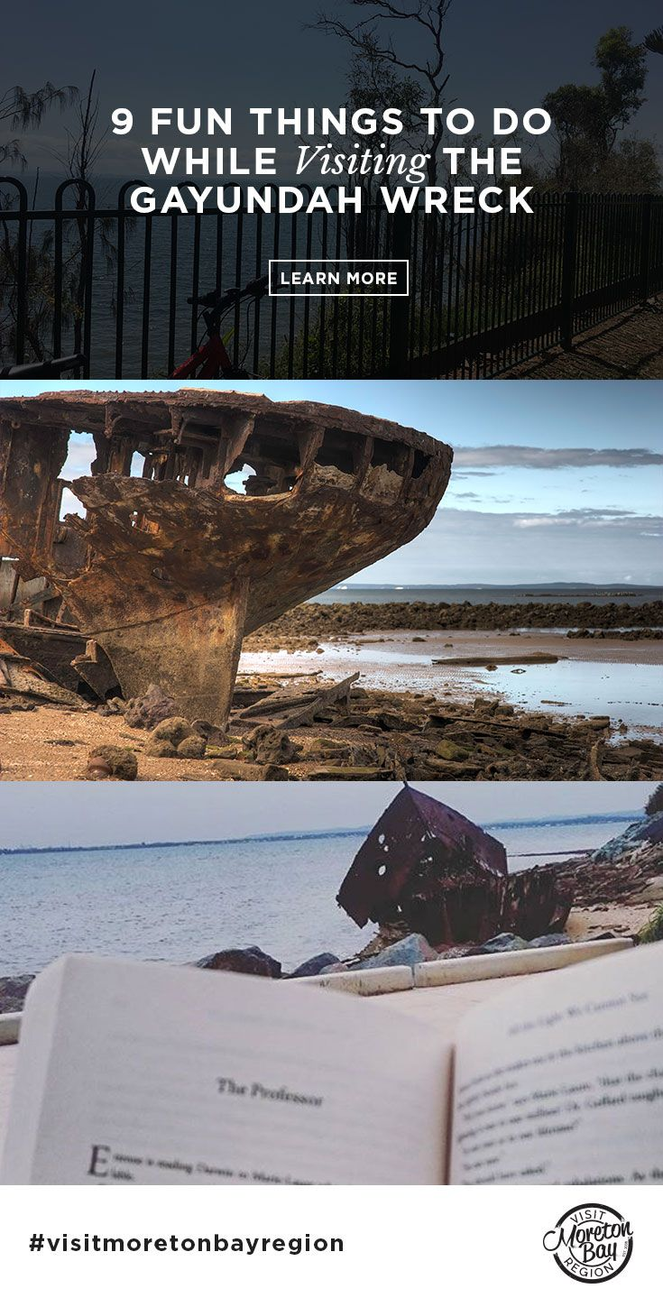 A massive part of the Redcliffe Peninsula's history, the HMQS Gayundah, one of the most iconic Moreton Bay shipwrecks, has protected our shores for 132 years – originally from suspected high-seas enemies and now from soil erosion.  As one of the only visible beached ships in QLD, it is a local attraction and even has its own film Mutiny on the Gayundah! #redcliffe #woodypoint #VisitMoretonBayRegion #moretonbay #thisisqueensland #brisbane #history #gayundahshipwreck