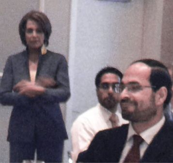 "How corrupt and compromised are our nation's leaders? This corrupt and compromised. ""Pelosi holds secret fundraiser with Islamists, Hamas-linked groups,"" by Neil Munro at The Daily Caller, November 2: Democratic leader Rep. Nancy Pelosi headlined a high-dollar fundraiser in May that was attended by U.S.-based Islamist groups and individuals linked by the U.S. government to the Hamas jihad group and to the Egypt-based Muslim Brotherhood movement."