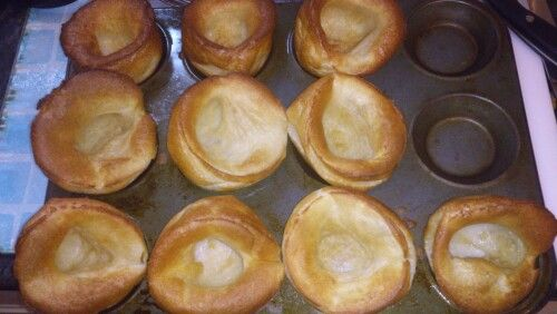 Homemade 1 syn Yorkshire puddings! Yummy