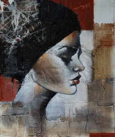 "Saatchi Art Artist Donatella Marraoni; Painting, ""Final blow"" #art"