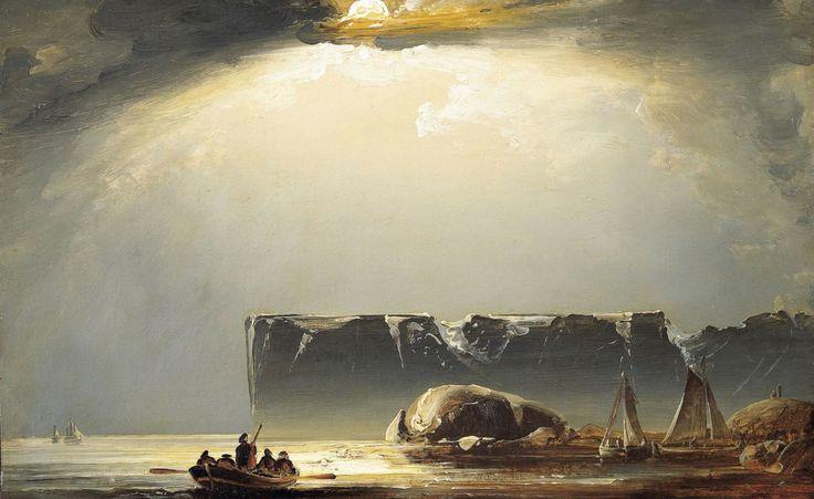 Peder Balke, Nordkap (ca. 1840