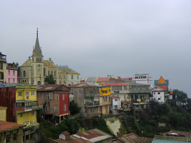 via www.mountainadventures.com Everyone talks about Vina del Mar, but Valparaiso is far more interesting.