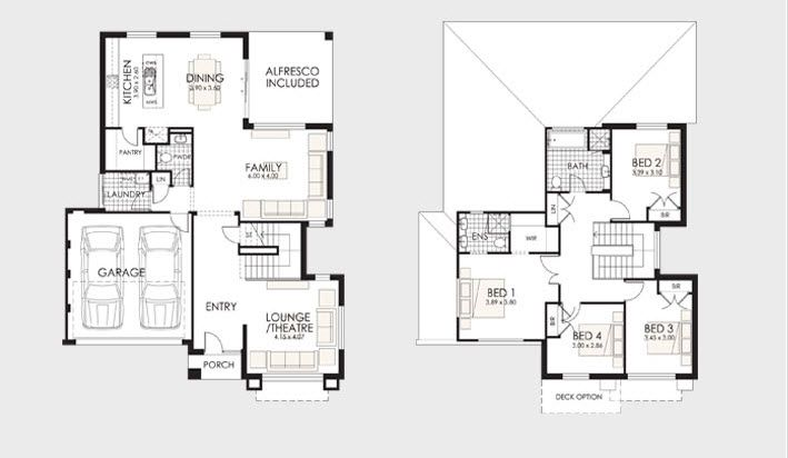 Dise o y planos de casas de dos pisos con ideas para for Planos de casas de dos pisos gratis