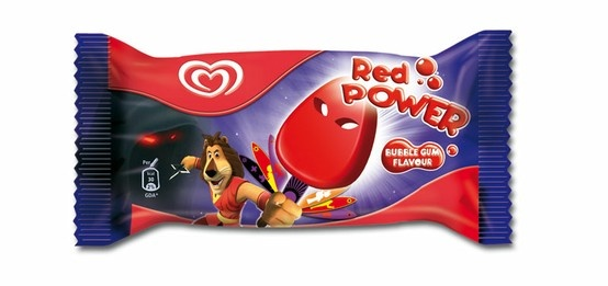 Wrap 3D Red Power