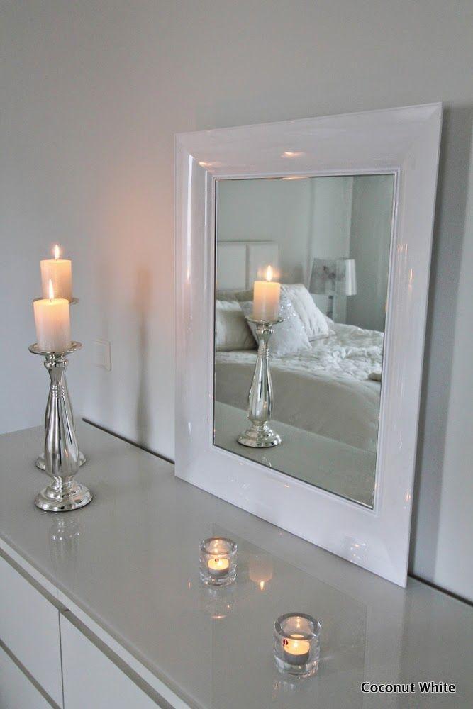 Coconut white kartell white francois ghost mirror my for Miroir francois ghost kartell