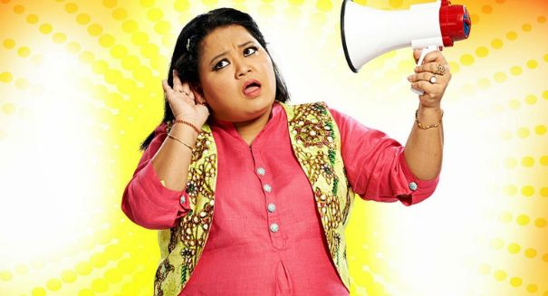 Bharti Singh to QUIT 'The Kapil Sharma Show'? - Click the link for more details:  http://www.desiserials.org/bharti-singh-quit-kapil-sharma-show/211083/