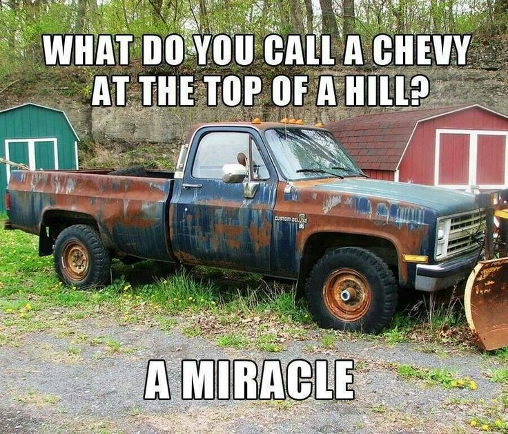 Powerstroke Jokes Chevy...