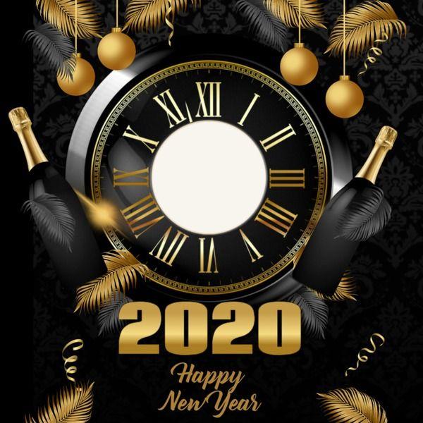 Photo Montage Dj Cs Christmas New Year 1 Pixiz Happy New Year 2020 Happy New Year Newyear