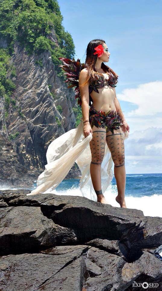 Polynesian beauty • Samoa