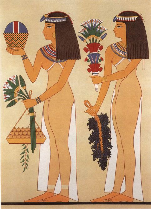 an analysis of the ancient egyptian artwork history