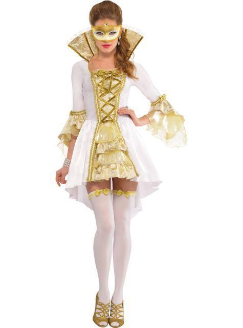 Adult Lady Venetian Costume ($69.99) - Party City ONLINE