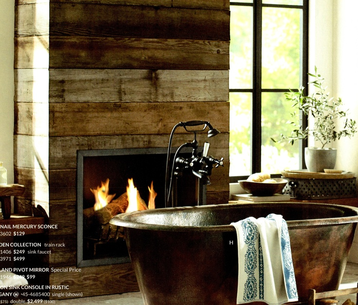 wood plank fireplace surround  Remodel  Pinterest  Fireplace surrounds Wood planks and Plank