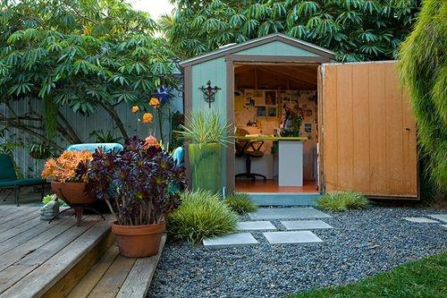 Di Zock garden, Venice, California   Parents' Backyard Bungalow ...