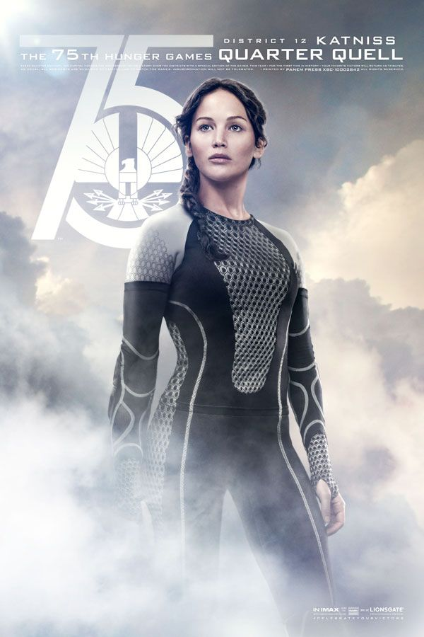 Catch Your Breath: The New 'Hunger Games: Catching Fire' Posters Are Here!: Jennifer Lawrence as Katniss Everdeen