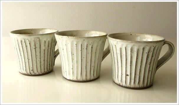 マグカップ 陶器 美濃焼 コーヒーカップ おしゃれ シンプル 粉引きマグ