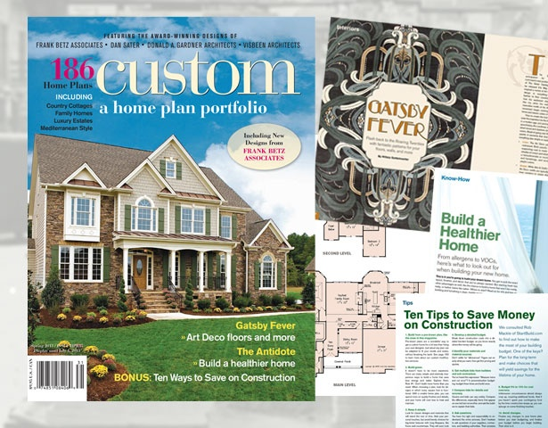 custom a home plan portfolio