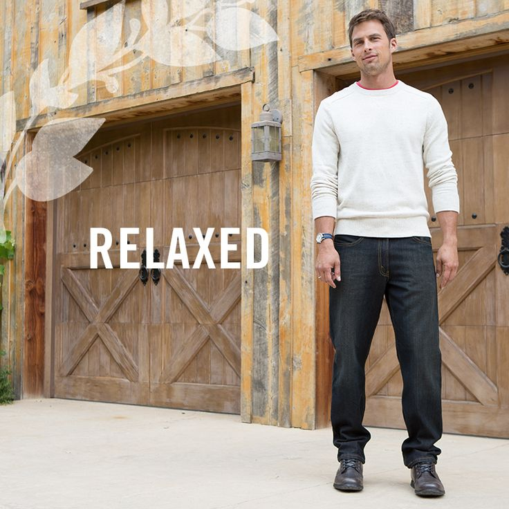 Our Men's Relaxed fit is the perfect pairing to cozy sweater weather! Shop the look here: http://signaturebylevistrauss.com/