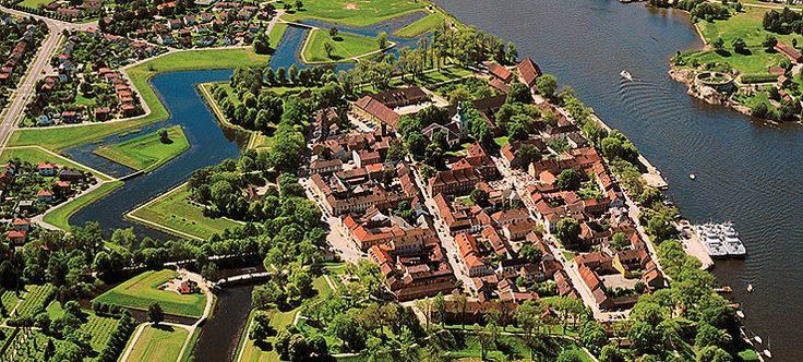 The Old Town in Fredrikstad, Norway - Photo: opplevfredrikstad.com