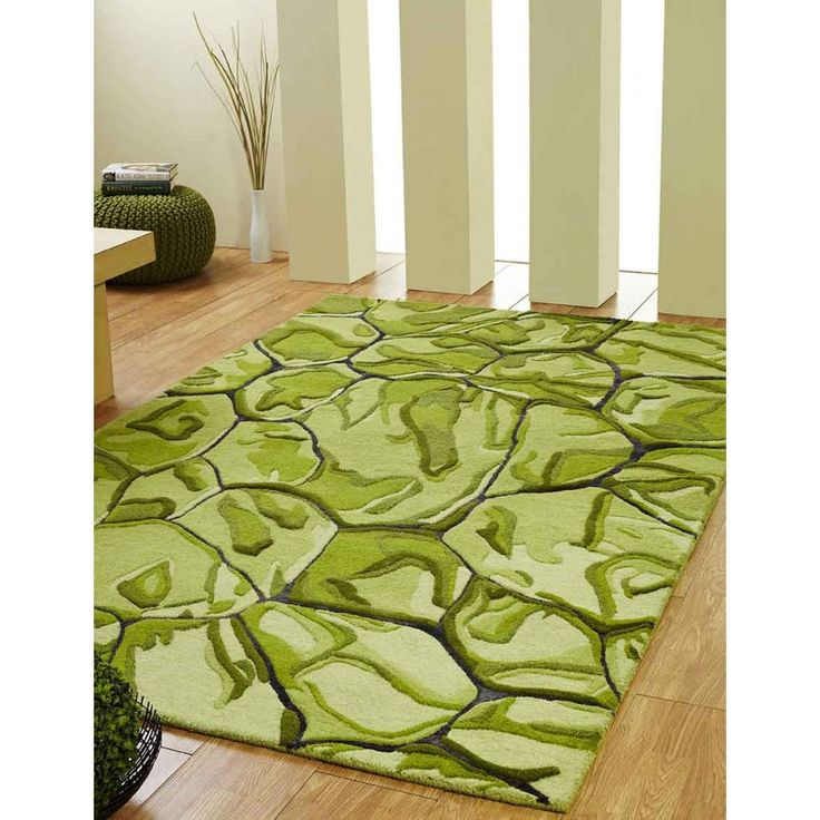 Majestic Abstract Design Unique Rug by Ultimate Rug A great way to accessories your floorings, this Majestic Abstract Design Unique Rug by Ultimate Rug has a charisma of alluring any dull looking ambiance. #modernrugs #greenrugs #luxuryrugs #woolrugs #handmaderugs #greenwoolrugs