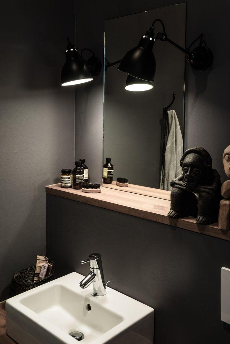 How To Create A Greyscale Bathroom: Best 25+ Dark Grey Bathrooms Ideas On Pinterest