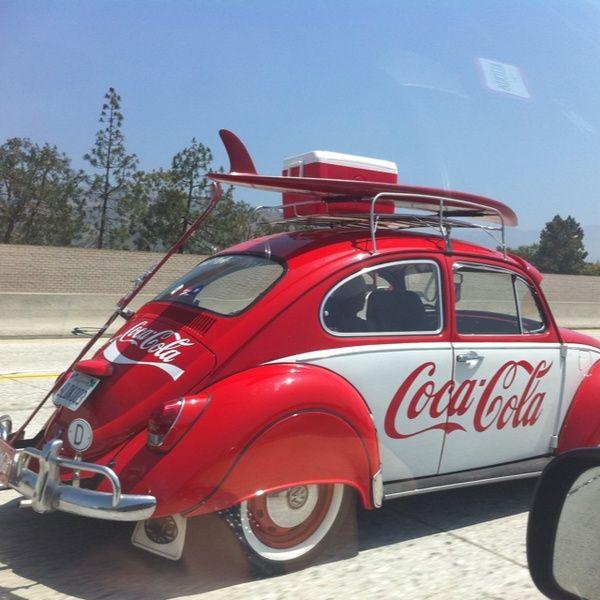 Coca Cola car! Coca-Cola Coke #coke #coca-cola