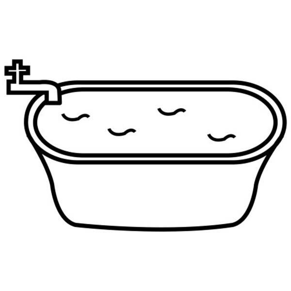 Filling Bathtub With Water For Bath Coloring Pages Coloring Pages Precious Moments Coloring Pages Bat Coloring Pages
