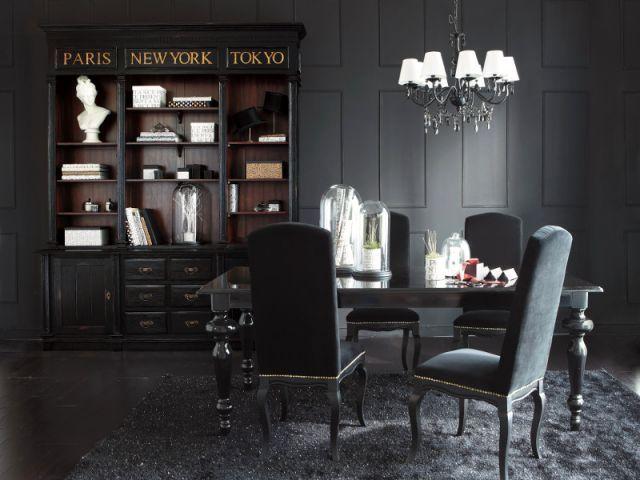 """Résultat de recherche d'images pour """"total look noir et blanc en decoration pinterest"""""""