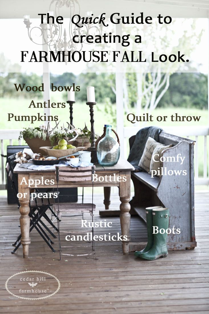 Check out my quick ideas for creating a Farmhouse Fall look. It's easier than you think, and you probably have most of the ingredients already at your home.
