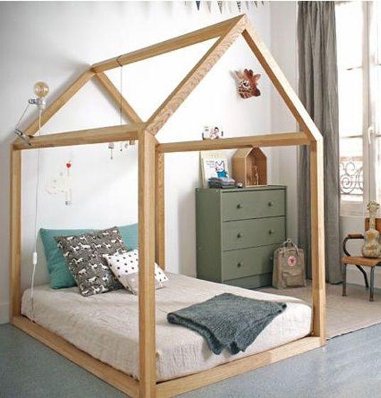 Wooden Bed for Kids   Деревянная детская кровать